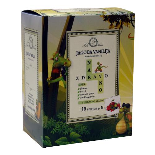 Gastro sadni čaj NARAVNO ZDRAVO Jagoda/vanilija